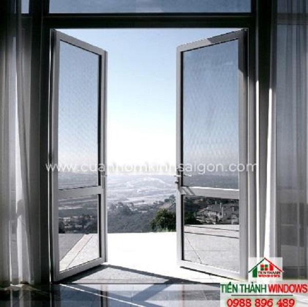 Cửa nhôm kính giúp Quý khách tận hưởng những phong cảnh đẹp bên ngoài ngôi nhà của mình